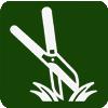 Ножницы для травы, живой изгороди