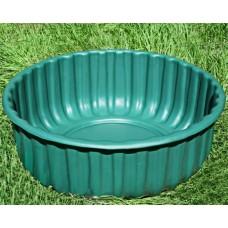 Декоративная ваза-клумба №12 зеленая, 210 л