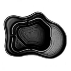 Декоративный пруд Байкал черный, 500 л