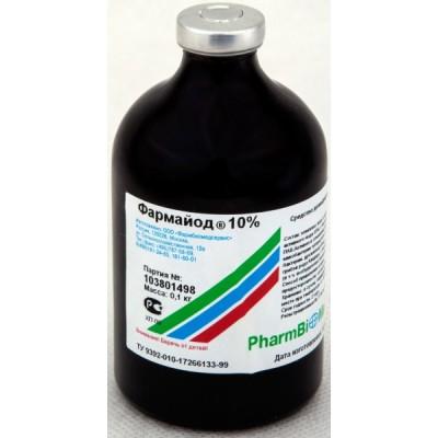 Фармайод 10% (100 г; 0,8 л)