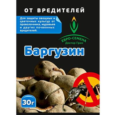 Средство от проволочника и муравьев Баргузин, 30 г