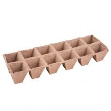 Блок торфяных горшочков (12 ячеек)