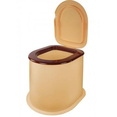 Туалет дачный накладной пластмассовый