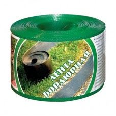 Бордюрная лента зеленая структурированная