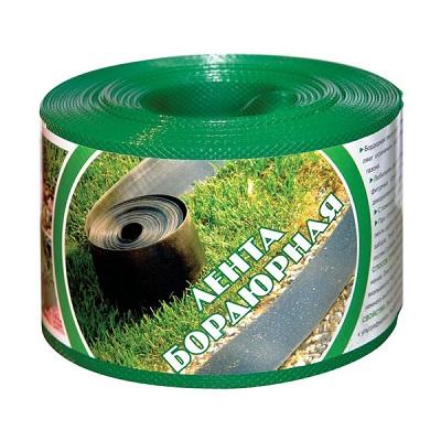 Бордюрная лента зеленая (гладкая, структурированная)