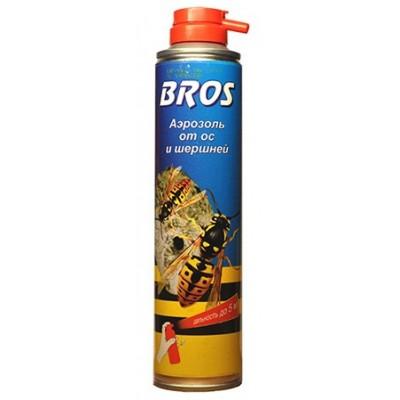 Bros аэрозоль от ос и шершней (300 мл)