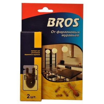 Приманка от фараоновых (рыжих) муравьёв BROS (2 шт)