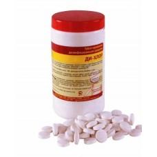 Таблетизированное дезинфицирующее средство ДИ-ХЛОР (100, 300  таблеток)