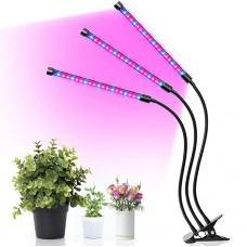 """Фито-светильник для растений. """"Два спектра"""" (3*9 ватт)"""