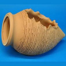 Горшок керамический Амфора мини (терракотовый)