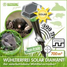 Ультразвуковой отпугиватель кротов, крыс и мышей ISOTRONIC SOLAR DIAMANT