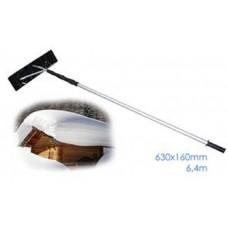 Скребок для уборки снега с крыш 630х160мм/6,4м SKRAB 28093