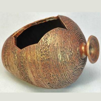 Кувшин керамический мини (цвет бронза)