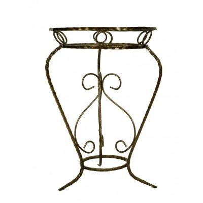 Подставка напольная металлическая для цветов МАКСИ малая на 1 горшок
