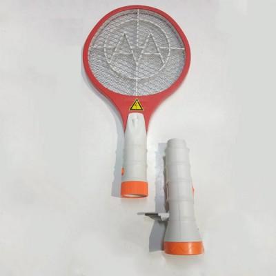 Электрическая мухобойка аккумуляторная с фонариком