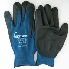 Рабочие перчатки с покрытием ладони из полиуретана