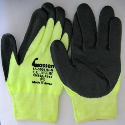 Рабочие перчатки с покрытием ладони из нитрила