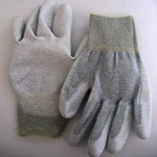 Бесшовные перчатки с карбоновой нитью (антистатические)