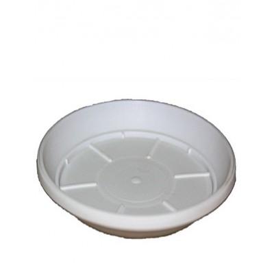 Поддон белый под горшок (разные размеры)