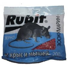 Зерно Rubit Зоокумарин+ (100гр, 200 гр)